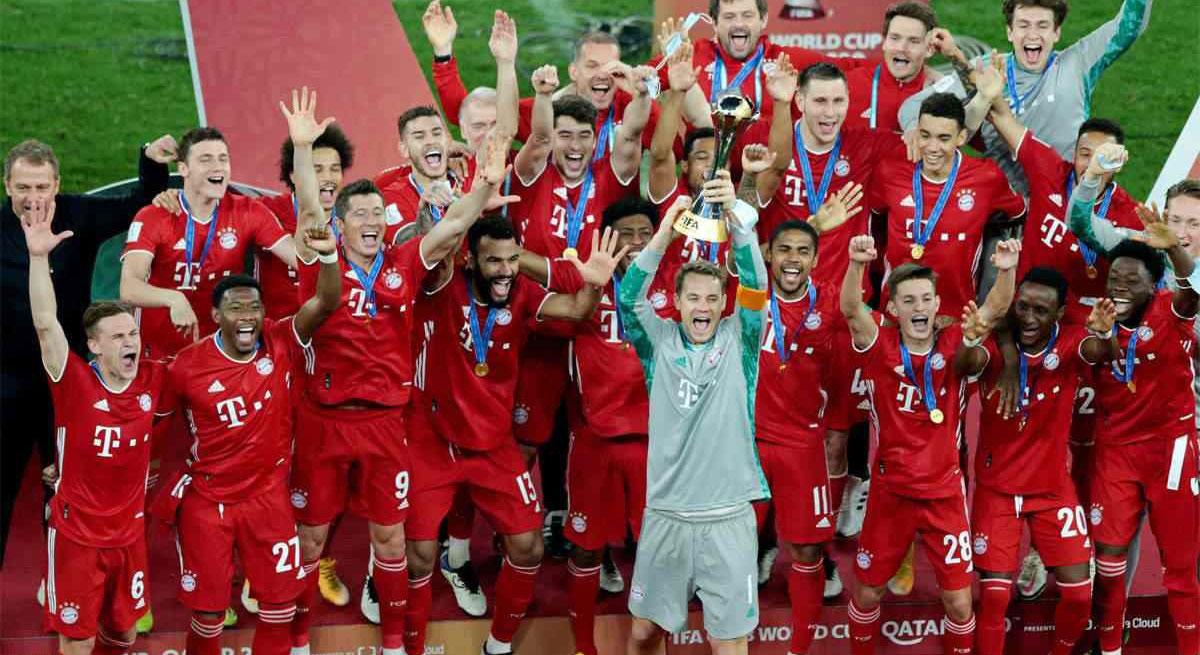 باشگاه ورزشی بایرن مونیخ (FC Bayern Munich) با 852 میلیون یورو