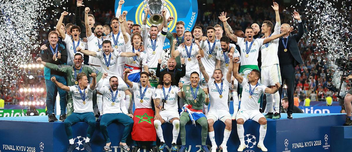 باشگاه ورزشی رئال مادرید (Real Madrid CF) با 784 میلیون یورو